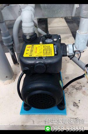 加壓馬達安裝-台中市西屯區-水電維修案例-台中水電速修師